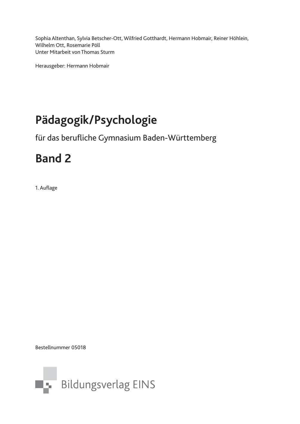 Abwehrmechanismen Freud Beispiele pädagogik/psychologie band 2