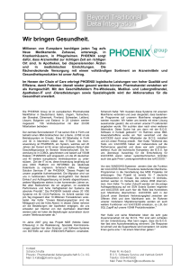 PHOENIX group, tcACCESS - BOS Software Service und Vertrieb