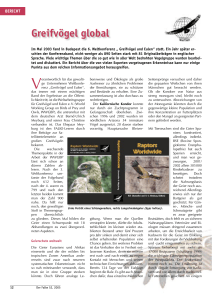Greifvögel global - The World Working Group on Birds of Prey