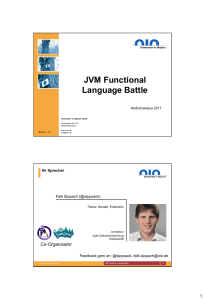 JVM Functional Language Battle