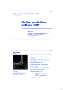 Die Multiple-Multipol- Methode (MMP) - Universität Duisburg