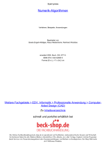 Numerik-Algorithmen - ReadingSample - Beck-Shop