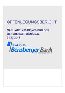 Offenlegungsbericht 2015 Version 1.5 Final