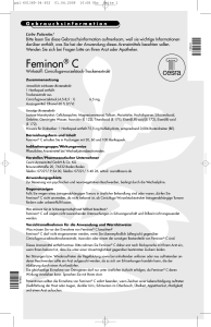 Feminon C mit Coupon
