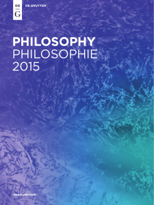 philosophy philosophie 2015