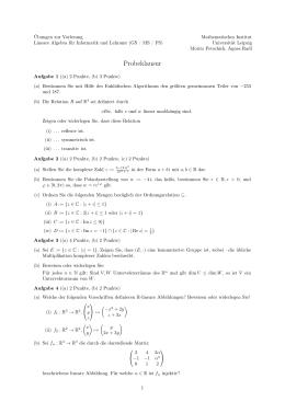 mathematik f r betriebswirte i lineare algebra 2 klausur. Black Bedroom Furniture Sets. Home Design Ideas