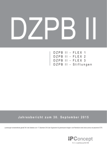 FLEX 3 DZPB II - Swiss Fund Data
