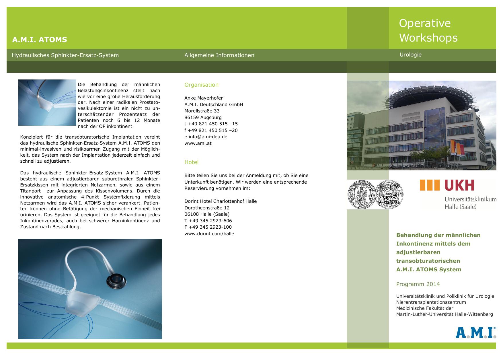 Operative Workshops Universitatsklinikum Halle Saale