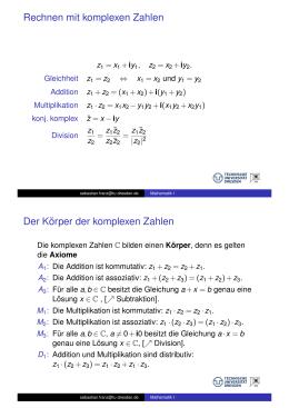 körperaxiome zeige ax b eine lösung