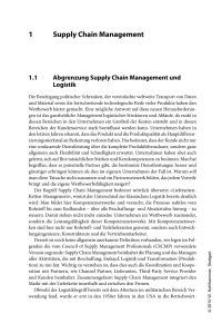 Supply Chain Management und Logistik - Beck-Shop
