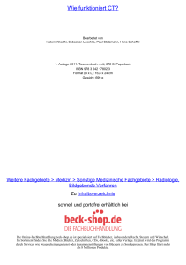 Wie funktioniert CT? - ReadingSample - Beck-Shop