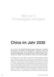 China im Jahr 2030 - IP