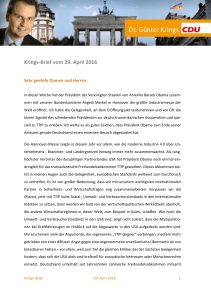 Krings-Brief vom 29. April 2016