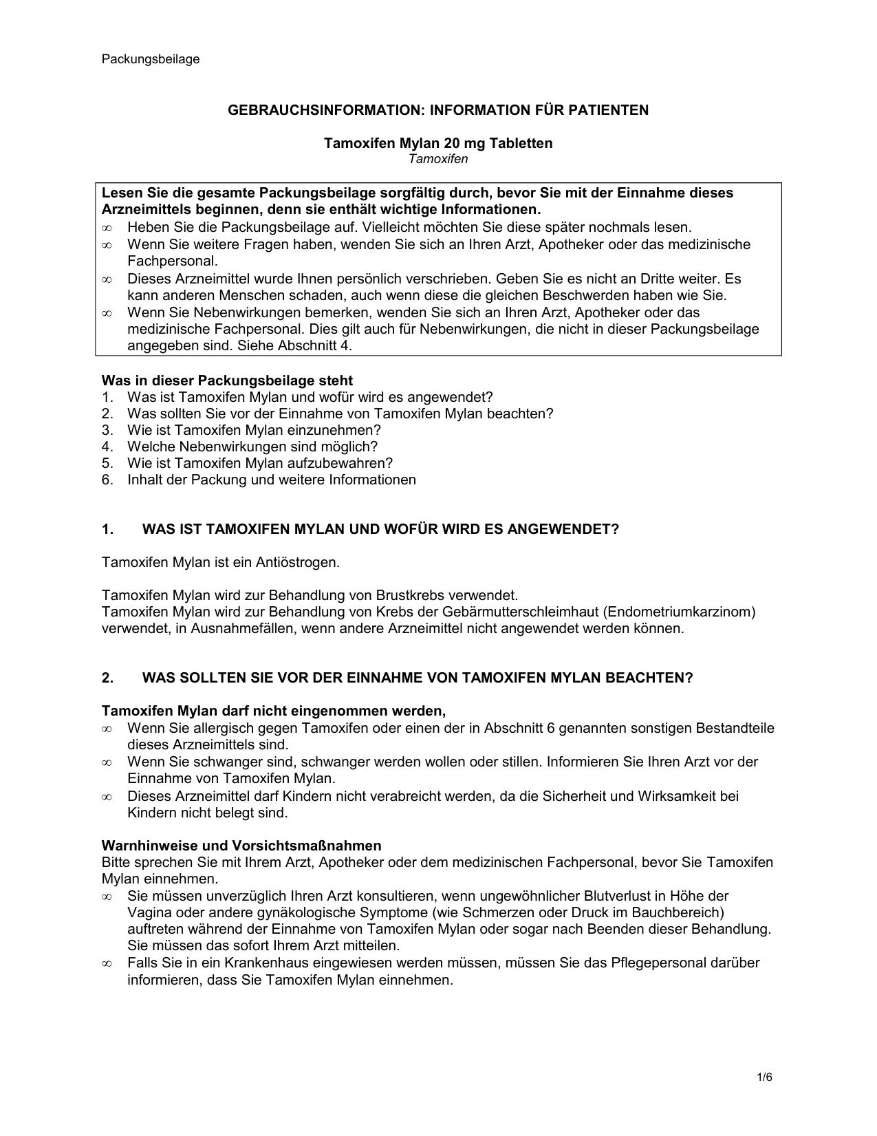 GEBRAUCHSINFORMATION: INFORMATION FÜR PATIENTEN
