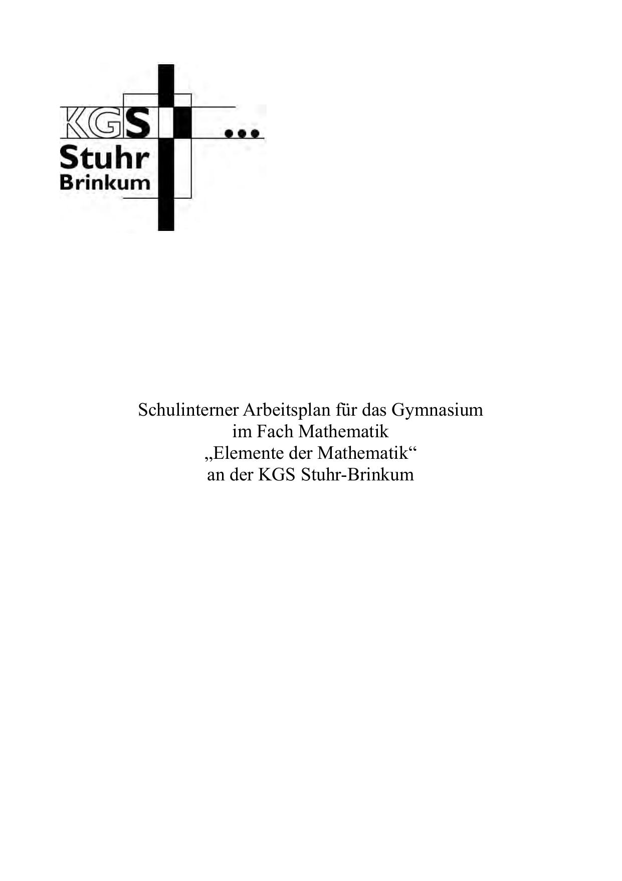 Gymnasium - KGS Stuhr