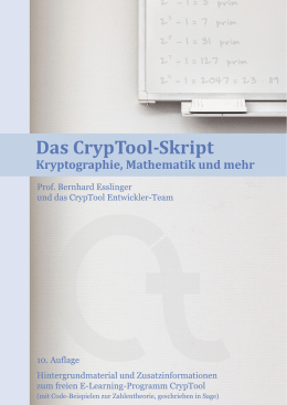 Deutsch - CrypTool