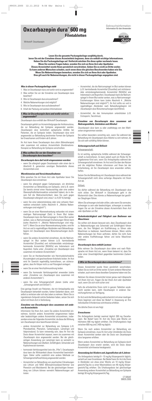 Oxcarbazepin dura® 600 mg - medikamente-per
