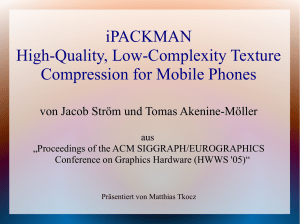 iPACKMAN High-Quality, Low-Complexity Texture Compression for
