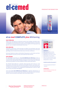 el-ce med COMPLETE plus Whitening - DENTAL