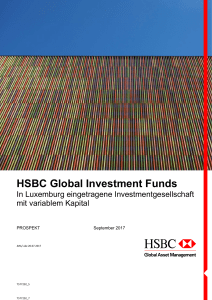 HSBC Global Investment Funds