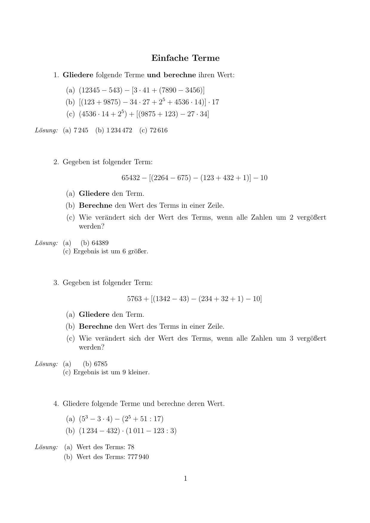 Niedlich Einfache Algebraische Gleichungen Arbeitsblatt Bilder ...
