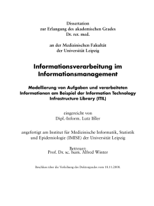 Informationsverarbeitung im Informationsmanagement