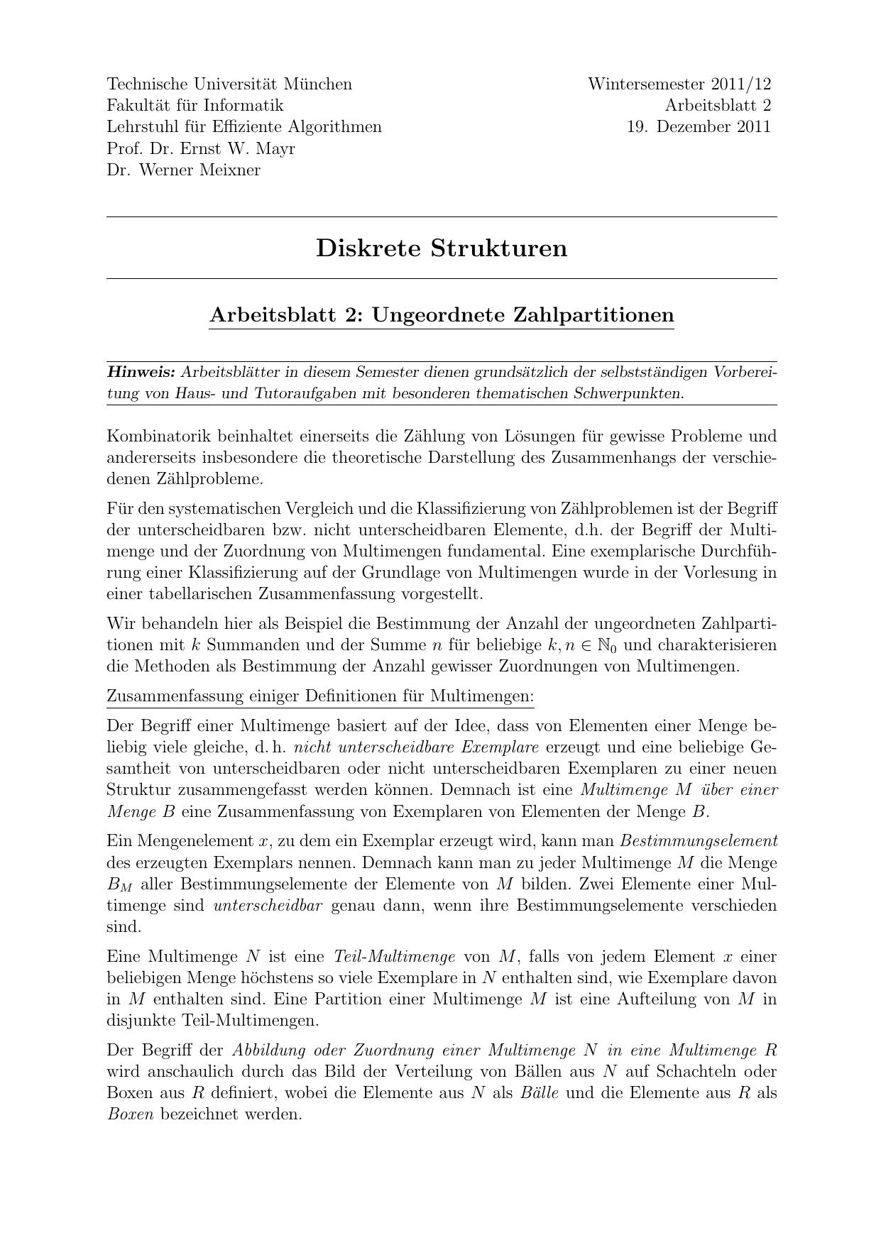 Fantastisch Nicht Standard Partitionierung In Mathe Arbeitsblatt ...