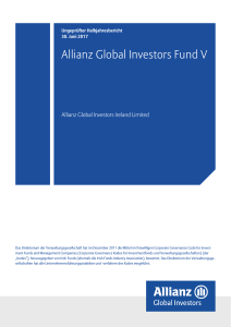 Allianz Global Investors Fund V