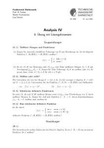 Analysis IV - TU Darmstadt/Mathematik