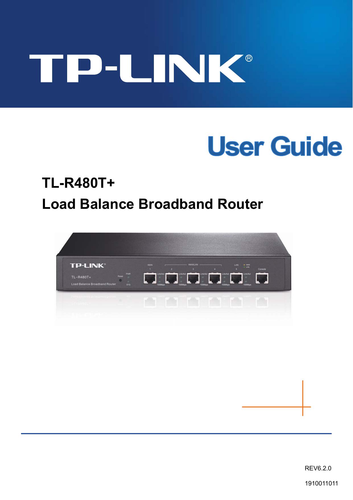 TL-R480T+ Load Balance Broadband Router - TP-Link