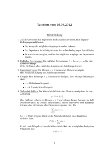 Tutorium vom 16.04.2012