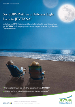 See Survival in a Different light Look to Jevtana