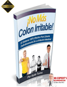 No Mas Colon Irritable Libro Pdf Gratis